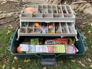 Large Tackle Box/ Fishing/ Hooks/ Lures/ Weights/ Floaters/ Jigs for Sale in Fresno, CA