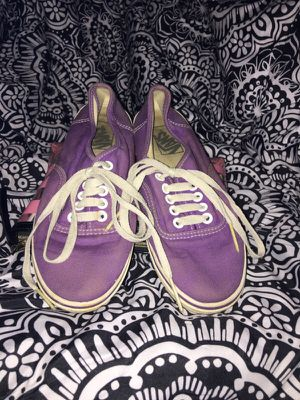 Purple bar laced Vans for Sale in Annandale, VA