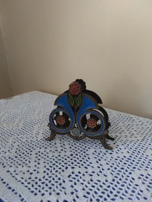 Antique Israeli napkin holder for Sale in Belleville, NJ