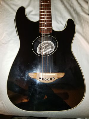 Fender Stratocoustic acoustic electric guitar for Sale in Glendale, AZ