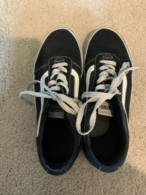 Old School Vans (Black/White) Size Woman's 8.5 for Sale in Seattle, WA