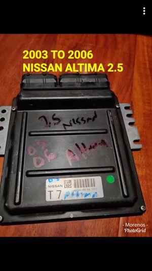 2003-2007 Nissan Altima 2.5 computer module for Sale in Garden Grove, CA