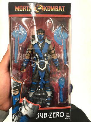 Mortal Kombat Sub Zero Action Figure for Sale in Artesia, CA