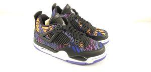 2019 Nike Air Jordan 4 Retro SE GS SZ 5Y Rush Violet Tiger Stripes BQ9043-005 for Sale in Marysville, WA