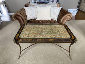 Antique iron coffee table for Sale in Utica, MI
