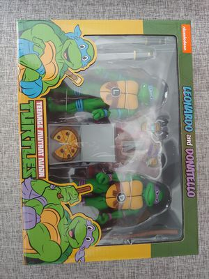 Neca TMNT Leo and Don figures for Sale in Houston, TX