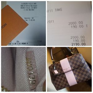 NEW Louis vuitton magnolia MM Ebene bag for Sale in Los Angeles, CA