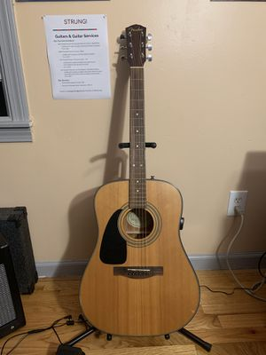 Fender left handed acoustic guitar for Sale in Fairfield, CT