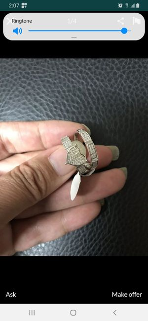 Heart ring and band. OBO for Sale in Philadelphia, PA