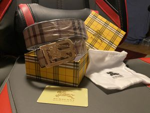 Fashion Burberry belt for Sale in Lawrenceville, GA