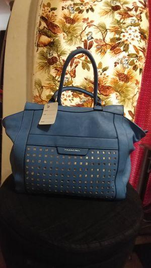 Brand name leather tote bag for Sale in Herndon, VA