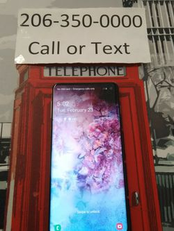 Unlocked samsung Galaxy S10 Plus for Sale in Shoreline,  WA