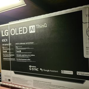 """LG - 65"""" Class CX Series OLED 4K UHD Smart webOS TV Model:OLED65CXPUA for Sale in Franklin Park, IL"""