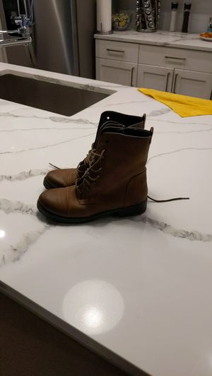 Great Rain Boots Super Cute Combat Boots for Sale in Las Vegas, NV