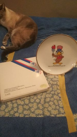 1984 Los Angeles Olympics plate for Sale in Riverside, CA