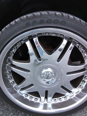 Gold plating rims emblems ect... We also custom paint rims and or powder coat for Sale in Naples, FL