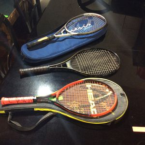 High end Tennis Rackets With Carry Bags for Sale in Bellingham, MA