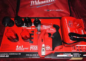 MILWAUKEE FUEL DRILL DRIVER KIT(NUEVA) for Sale in Irving, TX