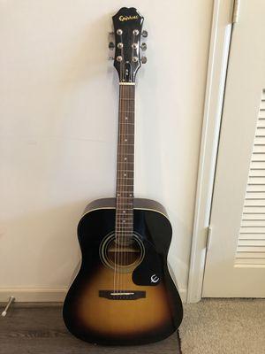 Acoustic guitar epiphone for Sale in Atlanta, GA