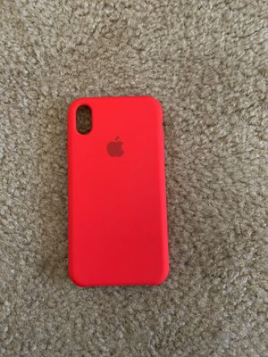 iPhone XR Apple case red for Sale in Gilroy, CA