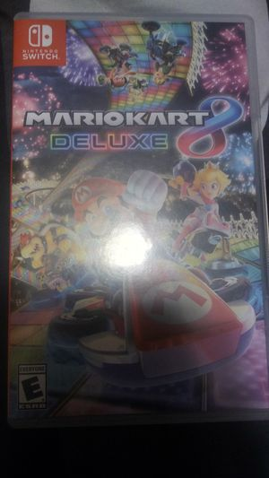 Mario Kart 8 deluxe for Sale in Malden, MA