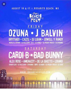 Baja beach fest ticket for Sale in San Diego, CA