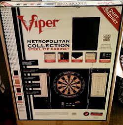 Viper Solid Wood Dart Board Cabinet for Sale in Westport,  MA