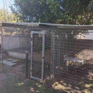 Huge bird Parrot atrium, birdcage, cages Approx 10x5' for Sale in Temple City, CA