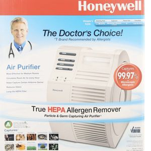 Honeywell QuietCare True HEPA Air Purifier 17000-S, White for Sale in Chino, CA