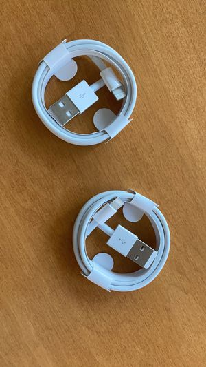 Two Apple iPhone chargers for Sale in Herndon, VA