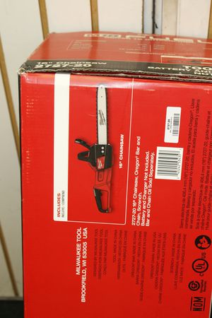 """Milwaukee Chainsaw M18 16"""" Lith-Ion Battery Brushless Kit Tool Only - 2727-20 for Sale in Miami, FL"""