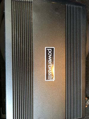 Powerbass USA ASA3-1000.1D Monoblock one channel Subwoofer Amplifier 1 ohm stable for Sale in Kirkland, WA
