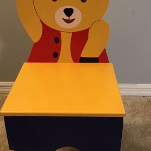 Kids Wooden Fantasy Bear Chair for Sale in Roswell, GA