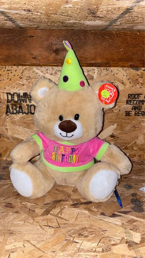 Birthday Teddy Bear for Sale in St. Louis, MO