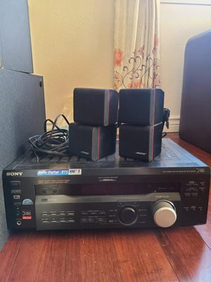 Bose Theater Speaker Acoustimass and Sony Player for Sale in Newcastle, WA