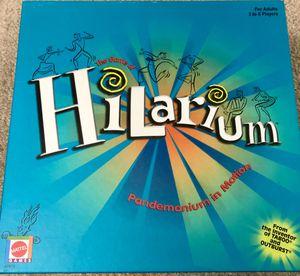 Hilarium Board Game for Sale in San Antonio, TX