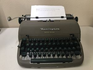 Remington typewriter for Sale in Portland, OR