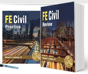 FE Civil Review Book and Question Book for Sale in Boston, MA