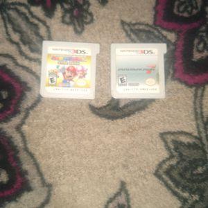 Mario Party Star Rush And Mario Kart 7. for Sale in San Bernardino, CA