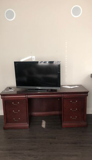 Large Wooden Desk for Sale in Dallas, TX