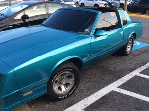 1987 Monte Carlo SS (350 Motor Runs Good) for Sale in Walkersville, WV