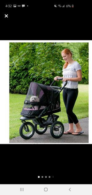 NWT Pet Gear No-Zip NV Pet Stroller for Cats/Dogs, Zipperless Entry for Sale in West Palm Beach, FL