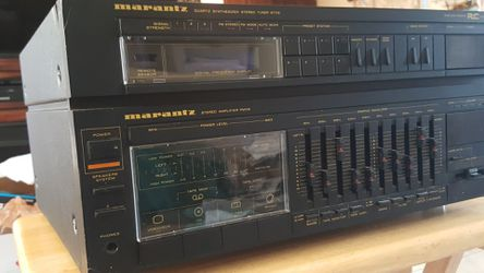 Marantz Quartz Synthesized Stereo Receiver & Stereo Amplifier for Sale in St. Louis,  MO
