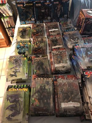 SELLING SPAWN entire 68 piece collection, OVER 10 Unique series and Exclusive SETS. for Sale in Miami, FL