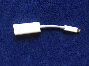 Apple thunderbolt Ethernet adapter for Sale in Herndon, VA