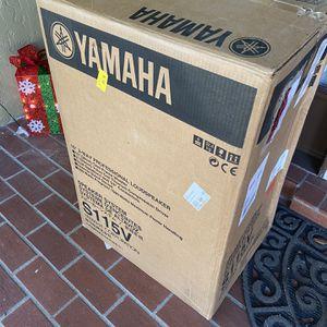 Yamaha S115V Speaker System BRAND NEW IN BOX for Sale in Auburndale, FL