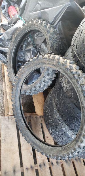 Dirt bike tires for Sale in Nashville, TN