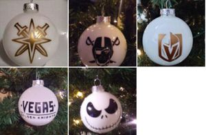 🌲Christmas ornament DECALS (any 6 decals for $10) for Sale in Henderson, NV