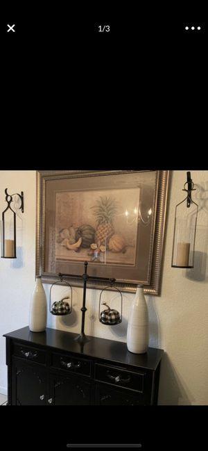 "Fruit wall frame 42 1/2"" x 36 1/2"" $50 FIRM for Sale in San Bernardino, CA"