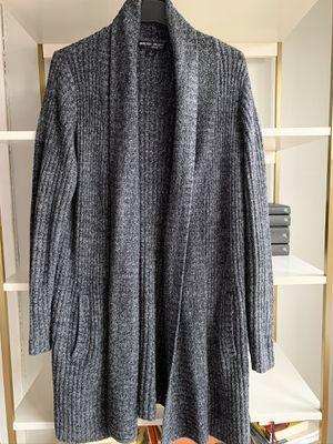 Barefoot Dreams Cozychic Lite Shawl Collar Sweater - Black/Grey for Sale in Seattle, WA